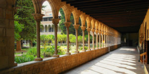 Barcelona Pedralbes and Sarria Tour