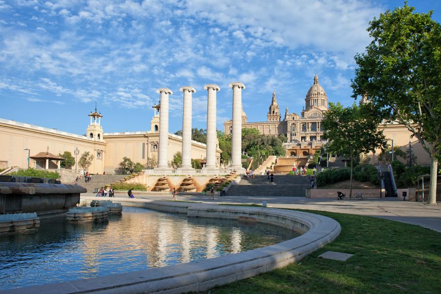Mountjuic Barcelona