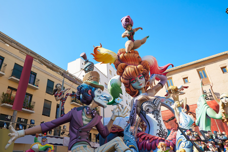 Fallas Figures or Ninots