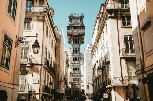 Lisbon Panoramic Tour: elevador Santa Justa