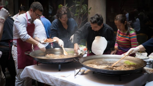 Barcelona Paella Workshop