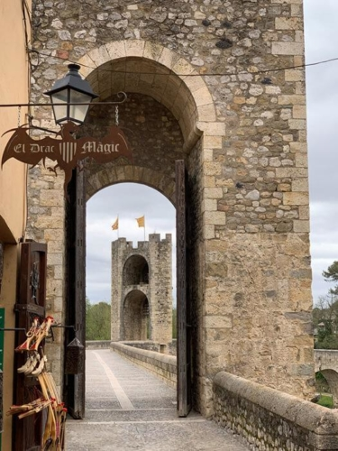 Girona and Besalu Tour - Besalu bridge