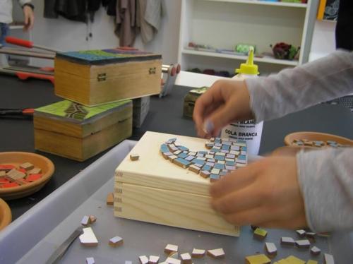 Barcelona mosaic class
