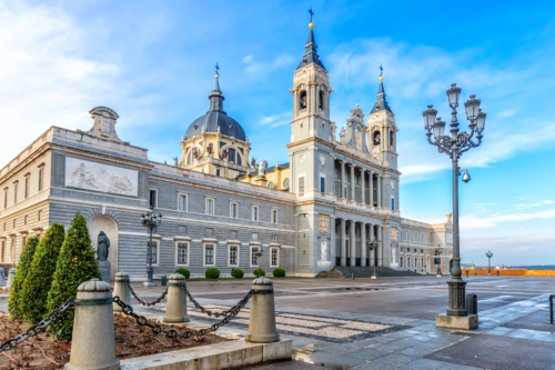 Cathedral Almudena, Madrid, Spain