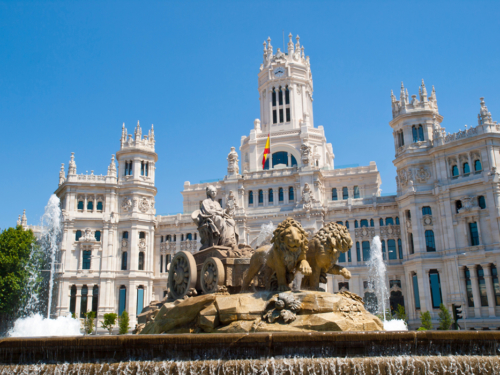 Cibeles Square, Madrid