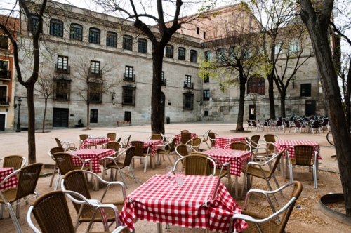 Plaza de la Paja, Madrid